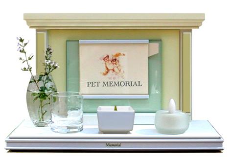 ペット 葬儀 火葬 天使の家フォトフレームタイプ